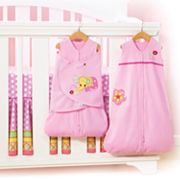HALO Jumbo's Flower Garden Safe Sleep Crib Set