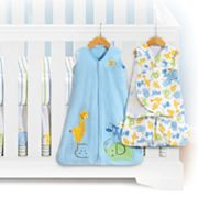 HALO Serengeti Blue Safe Sleep Crib Set
