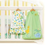 HALO Serengeti Green Safe Sleep Crib Set