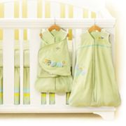 HALO Friendly Caterpillar Safe Sleep Crib Set