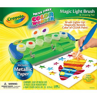 Crayola Magic Light Brush and Drawing Pad Set