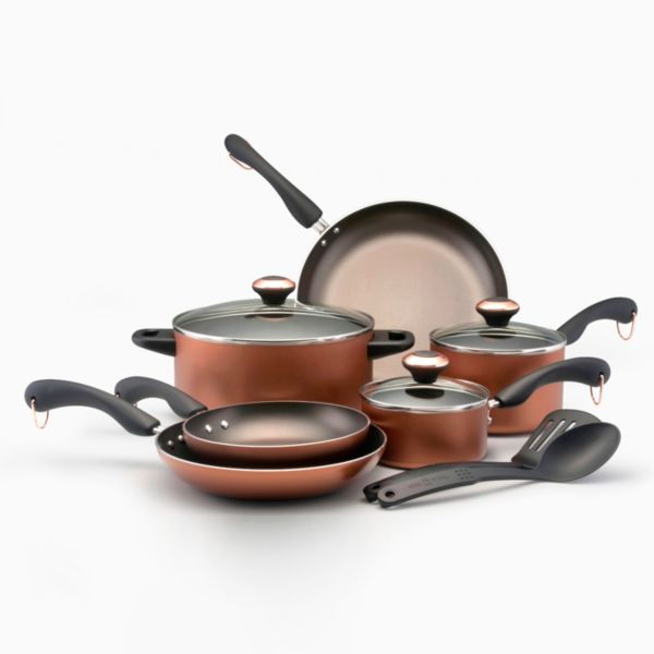 Paula Deen 11-pc. Copper Cookware Set