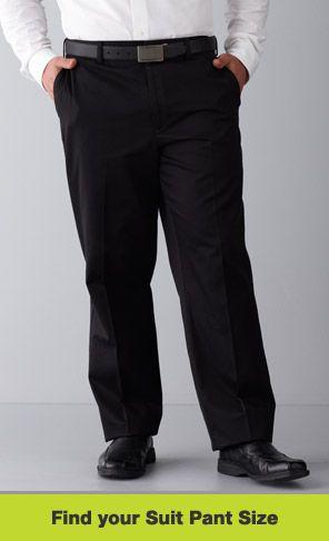 Find Your Suit Pants Size