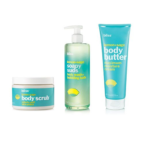 bliss bath and body products
