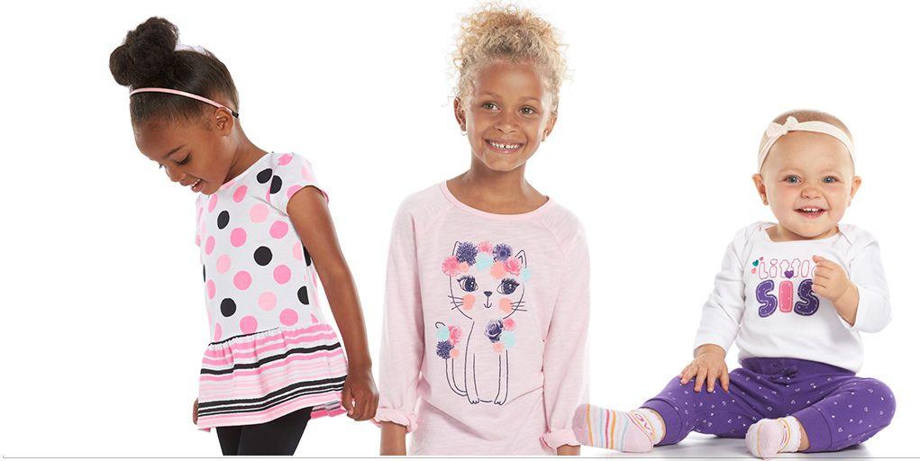 Shop girls' mix & match