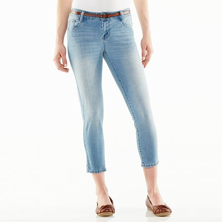 jeans above ankle
