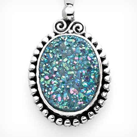 drusy gemstone