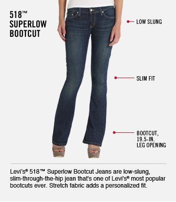 518 Superlow Bootcut