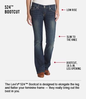 524 Bootcut