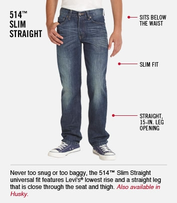 514 Slim Straight
