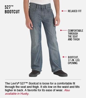 527 Bootcut