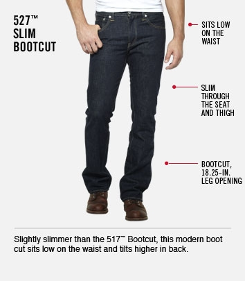 527 Slim Bootcut