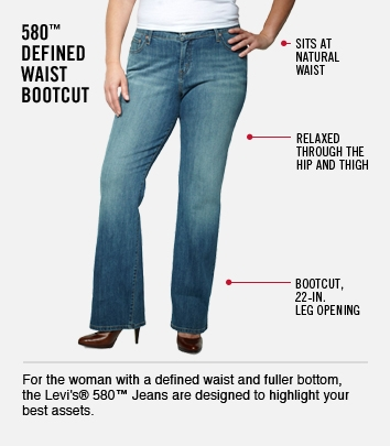 Defined Waist Boot Cut