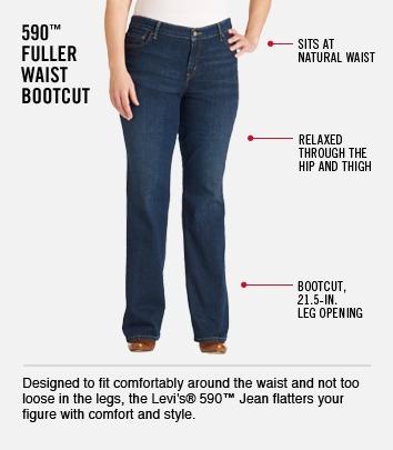 Fuller Waist Boot Cut