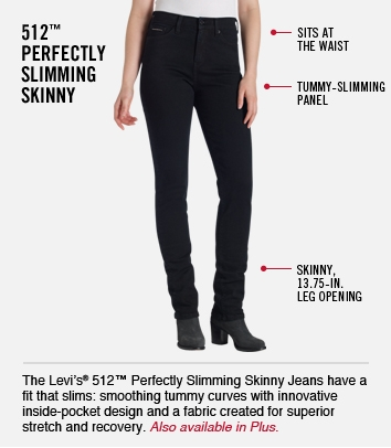 512 Perfectly Slimming Skinny