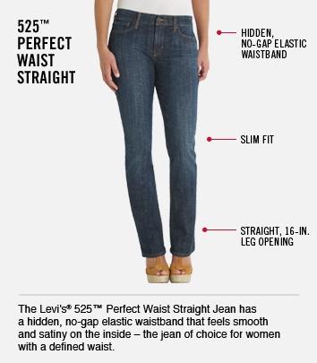 525 Perfect Waist Straight
