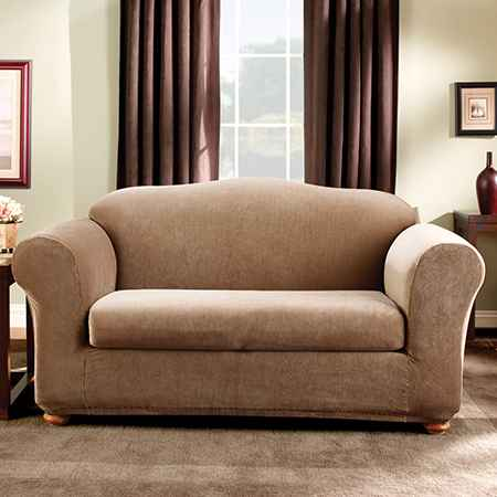 Two-piece slipcovers