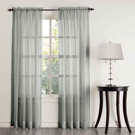 Sheer Fabric Curtains