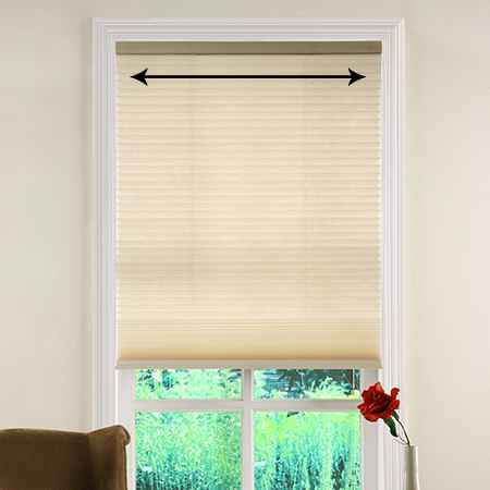 how to measure the width of inside mount window treatments