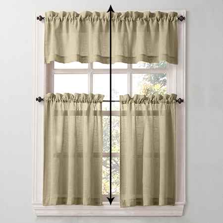 How to measure the height of outside mount window treatments