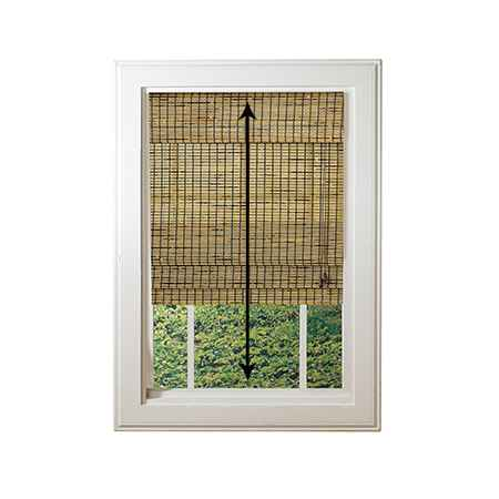 How to measure the height of inside mount window treatments