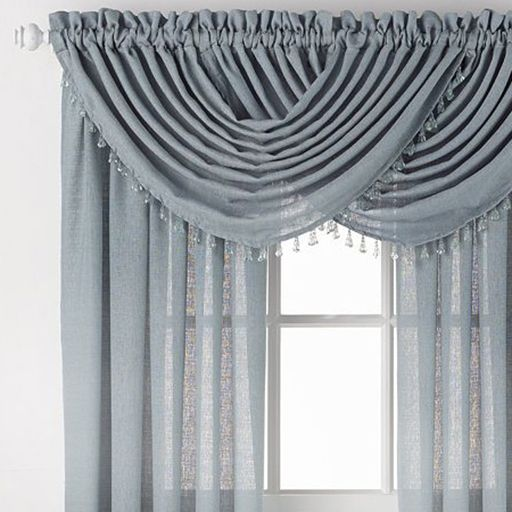 Window Top Treatments. Choosing Curtain Fabric