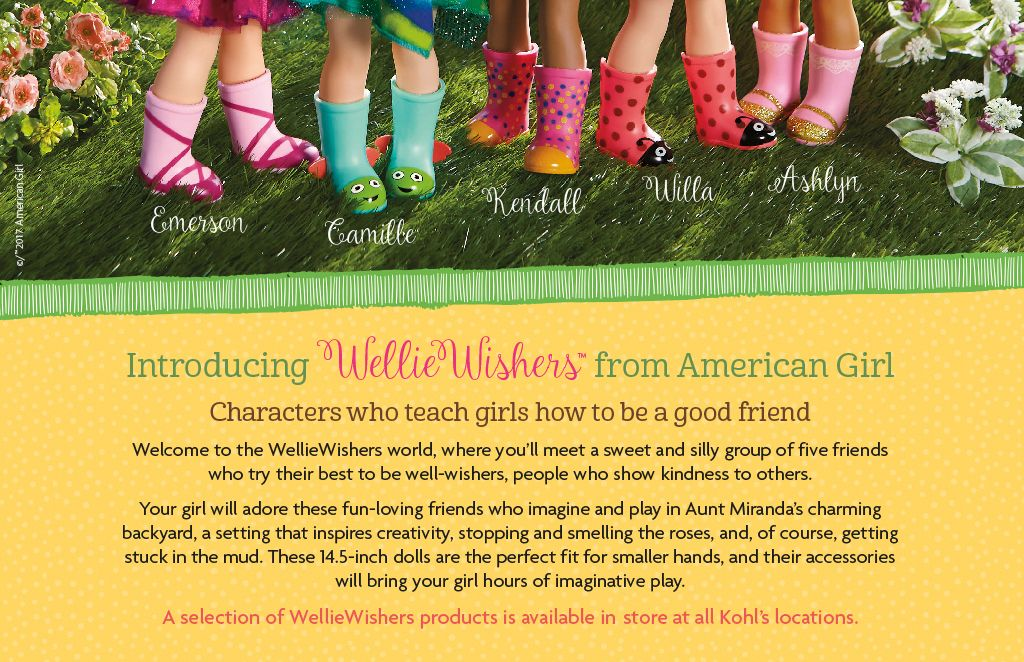 Wellie Wishers American Girl B