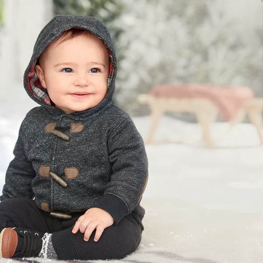 coats, jackets and winter accessories for baby