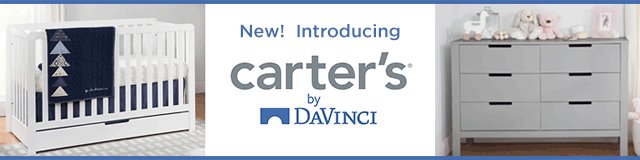 Introducing New Carter's by Davinci