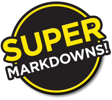 super markdowns