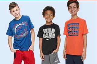 New Under Armour Boys Kids Youth Long Sleeve Shirt /& Pant Set Gray Orange 12 M