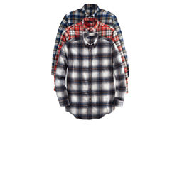 $12.99 Flannel Shirts. Select styles.