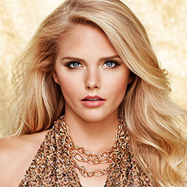 lorac unzipped gold makeup look