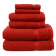 Linum Home Textiles Herringbone Towel Collection