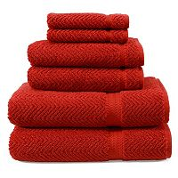 Linum Home Textiles Herringbone Towel Collection