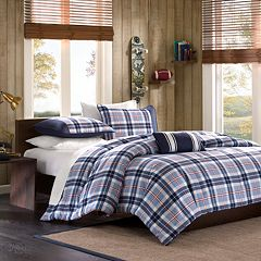 bauer blue elliot queen bed reversible in beyond bath comforter set eddie full from buy plaid