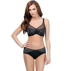 Parfait by Affinitas Marrianne Full-Figure Bra & Panties Lingerie Set
