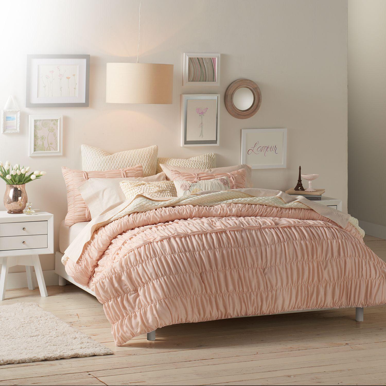 lc lauren conrad sophia comforter collection - Grey Comforters
