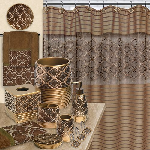 Popular Bath Spindle Shower Curtain Collection