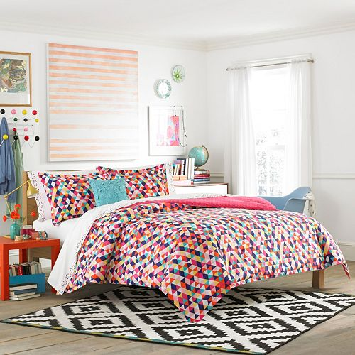 Teen Vogue Kaleidoscope Comforter Collection