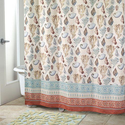 Avanti Seabreeze Shower Curtain Collection