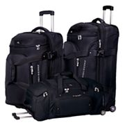 High Sierra AT3 Sierra-Lite Wheeled Drop-Bottom Duffel Bag