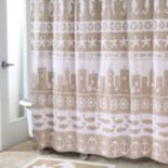 Avanti Sea & Sand Shower Curtain Collection