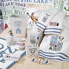 Avanti Lake Words Bathroom Accessories Collection