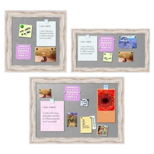 Amanti Art Alexandria Framed Magnetic Bulletin Board