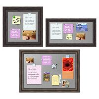 Amanti Art Rustic Framed Magnetic Bulletin Board