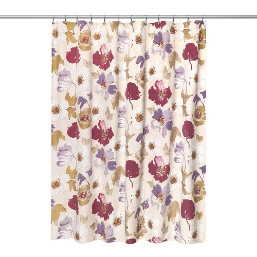 Popular Bath Dahlia Shower Curtain Collection