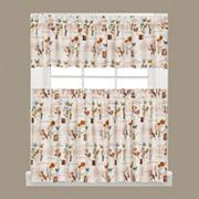 Saturday Knight, Ltd.  Le Jardin Tier Kitchen Window Curtains