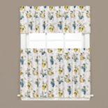 Saturday Knight, Ltd.  Botanical Fruit Tier Kitchen Window Curtains