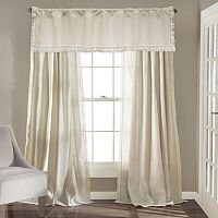 Lush Decor Rosalie Lace Chic Window Treatments